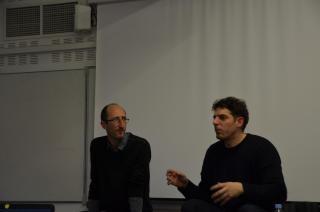 Vincent Deville et Damien Bonnard