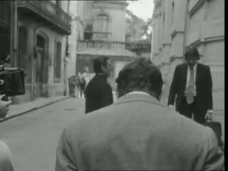 L'Emmerdeur, image du tournage. (remerciements à l'INA)