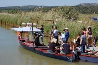 Le Moine de Dominik Moll. © Languedoc-Roussillon Cinéma. (Canal de la Robine).