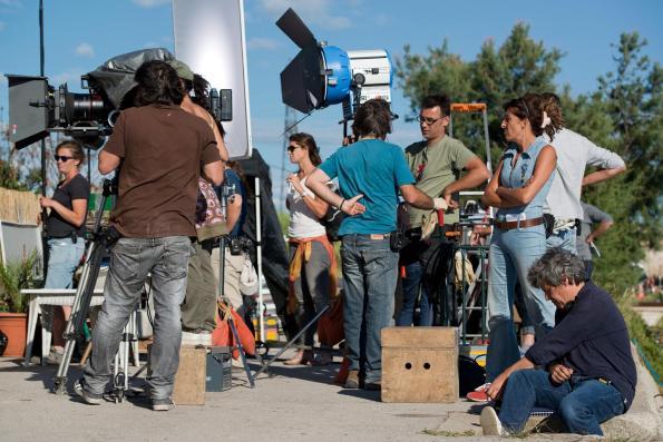 Sur le tournage de Candice Renoir © Fabien Malot / Boxeur de lune