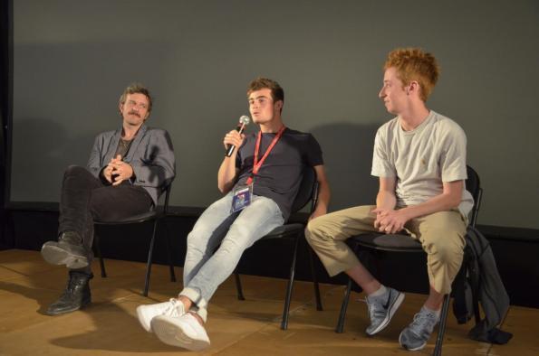 David Laget, Clément Rémiens et Joaquim Fossi