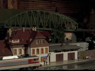 Maquette de train
