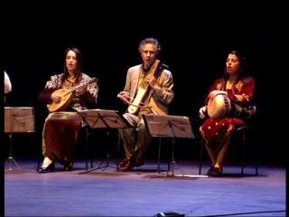 Ensemble de musique arabo andalouse Albaycin sur scène