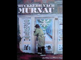 """Affiche allemande du film """"Le Retour de Murnau"""""""