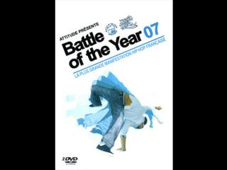 Jaquette du dvd du Battle of the year 2007