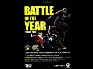 Jaquette du dvd du Battle of the year 2008