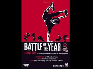 Jaquette du dvd du Battle of the year 2009