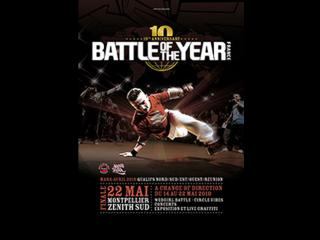 Jaquette du dvd du Battle of the year 2010