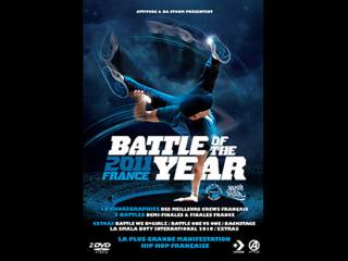 Jaquette du dvd du Battle of the year 2011