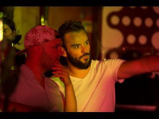 Tournage du film Le Bal - Jean-Baptiste Durand et Benoît Jaoul. Photo Cécile Mella