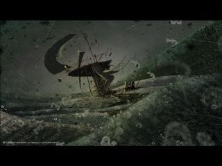 Image d'animation : Navire dans une tempête