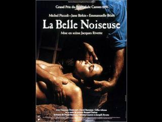 """Affiche du film """"La Belle noiseuse"""""""