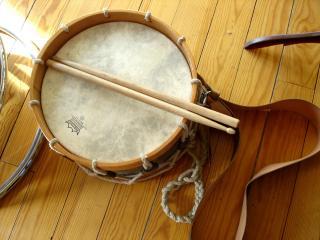 Gros plan sur un tambour
