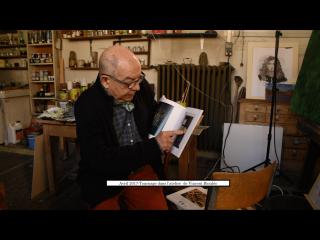 Un peintre en son pays - Camille Descossy. Photo du tournage
