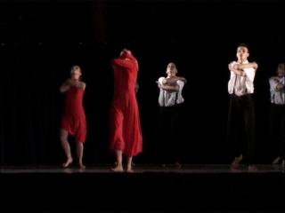 Les élèves du conservatoire de danse de Montpellier sur scène lors de leur spectacle de fin d'année