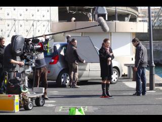 Photo d'uns scène de tournage du film Coup d'éclat