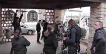 Photo de tournage du film Il venait de Roumanie
