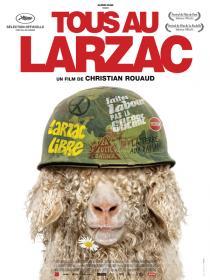 Tous au Larzac. Affiche du film de Christian Rouaud