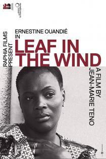 Un feuille dans le vent. Affiche du film de Jean-Marie Teno